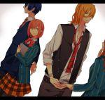 gomi_chiri hijirikawa_masato jinguuji_ren nanami_haruka redhead uta_no_prince-sama yellow_eyes
