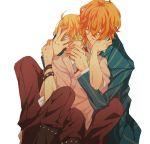 blonde_hair gomi_chiri green_eyes kurusu_shou shinomiya_natsuki uta_no_prince-sama