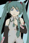 1girl blue cute czechonski diva eyes green hair hatsune hatsune_miku imaginatoria kawaii marcin miku necktie ponytail project vocaloid