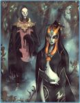 blue_skin midna nintendo orange_hair the_legend_of_zelda twilight_princess zant