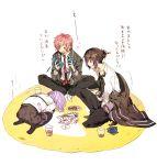 heishi_otomaru itsuki_kagami norn9 pixiv_id_1551856 purple_hair shiranui_nanami violet_eyes