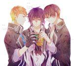 brown_eyes brown_hair itsuki_kagami masamune_tooya muroboshi_ron norn9 pixiv_id_1551856
