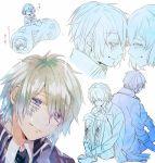 akito_shukuri koharu_(norn9) norn9 pink_hair pixiv_id_1551856 senri_ichinose
