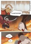 blanche_(pokemon) candela_(pokemon) comic english fire noire_(numina) numina pantyhose pokemon pokemon_go white_hair