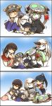6+girls =_= akagi_(kantai_collection) bangs black_gloves black_hair blanket blankets bodysuit bow brown_hair cape cape_removed claws closed_eyes collar commentary covering_with_blanket detached_sleeves dress gloves green_eyes grey_hair hair_bow hair_ornament hairband hairclip hakama haruna_(kantai_collection) hat hat_removed headgear headwear_removed high_ponytail highres hisahiko horn horns houshou_(kantai_collection) japanese_clothes kantai_collection katsuragi_(kantai_collection) kimono lap_pillow long_hair midriff mittens multiple_girls nontraditional_miko northern_ocean_hime open_mouth orange_eyes parted_bangs ponytail red_hakama ribbed_sweater seaport_hime seiza shinkaisei-kan sidelocks sitting sleeping sleeping_on_person sleeveless sleeveless_dress smile star star-shaped_pupils sweater sweater_dress symbol-shaped_pupils tentacles thigh-highs white_hair wide_sleeves wo-class_aircraft_carrier younger