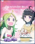 birthday birthday_cake cake candle dated fire_emblem fire_emblem:_kakusei food happy_birthday mother_and_daughter nn_(fire_emblem) nono_(fire_emblem) pastry sasakimuu