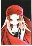 beads blonde_hair kyouyama_anna official_art scan shaman_king yellow_eyes