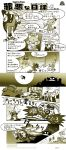 artist_request bed blanket blaze_the_cat comic cubot dr._eggman eggman_nega facial_hair hat highres marker mustache nightcap nose_bubble orbot pointing sleeping sonic_the_hedgehog teleport translation_request
