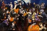 4girls 6+boys agni alois_trancy baldroy bandage black_hair blonde_hair blood brown_eyes brown_hair candy candy_corn catherine_(game) ciel_phantomhive claude_faustus coffin collar cosplay demon_wings dress elizabeth_ethel_cordelia_midford finnian flower frankenstein's_monster frankenstein's_monster_(cosplay) frankenstein;_or,_the_modern_prometheus glasses green_eyes grell_sutcliff grey_hair hair_bow hair_over_eyes halloween hannah_anafeloz harry_james_potter harry_james_potter_(cosplay) harry_potter hat hat_ribbon horns jack-o'-lantern jack_skellington jack_skellington_(cosplay) kuromai kuroshitsuji lamia lau lollipop long_hair long_nails maid_headdress match maylene midriff mini_top_hat monster_boy multiple_boys multiple_girls mummy_costume pinstripe_suit pluto purple_dress purple_hair ran_mao red_eyes red_rose redhead rose scarf sebastian_michaelis sharp_teeth shorts skirt snake soma_asman_kadar stitching striped_legwear striped_scarf suit tanaka teeth the_nightmare_before_christmas top_hat topless undertaker undertaker_(kuroshitsuji) vampire vampire_costume vincent_brooks vincent_brooks_(cosplay) william_t._spears wings witch_hat wolf_costume wolf_ears yellow_eyes
