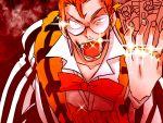 bou_(vyniltheater) bowtie glasses gold_teeth kill_la_kill looking_at_viewer male_focus money solo takarada_kaneo