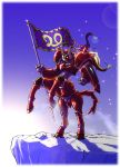 artist_request centaur flag kikou-kai_galient mecha no_humans promaxis