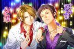 brown_eyes brown_hair fabulous formal koizumi_itsuki kyon male nightclub realistic short_hair suit suzumiya_haruhi-chan_no_yuuutsu suzumiya_haruhi_no_yuuutsu yajou_hirarin