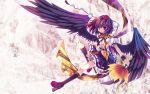 capura.l capura_lin geta highres shameimaru_aya tengu-geta touhou wallpaper wings