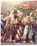 cammy_white capcom dee_jay dhalsim edmond_honda everyone guile highres ken_masters ryu ryuu_(street_fighter) scan street street_fighter street_fighter_i street_fighter_ii street_fighter_zero street_fighter_zero_i street_fighter_zero_ii street_fighter_zero_iii udon udon_entertainment zangief
