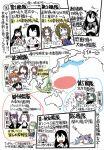 6+girls akagi_(kantai_collection) ashigara_(kantai_collection) colored comic commentary_request fusou_(kantai_collection) hyuuga_(kantai_collection) i-19_(kantai_collection) jintsuu_(kantai_collection) kantai_collection kiso_(kantai_collection) kuma_(kantai_collection) map maya_(kantai_collection) multiple_girls mutsu_(kantai_collection) nagara_(kantai_collection) nagato_(kantai_collection) natori_(kantai_collection) sakazaki_freddy shoukaku_(kantai_collection) tama_(kantai_collection) tatsuta_(kantai_collection) tenryuu_(kantai_collection) translation_request when_you_see_it yuubari_(kantai_collection)