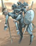 80s centaur kikou-kai_galient lance mecha pota_(nabrinko) promaxis shield weapon