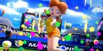 3d animated animated_gif brown_hair princess_daisy tagme tennis