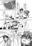 ... 3girls :d :o ^_^ adapted_costume all_fours animal_hood asymmetrical_clothes bunny_hood bunny_print chibi closed_eyes coat comic commentary_request eyebrows eyebrows_visible_through_hair folded_ponytail greyscale hair_between_eyes hair_ornament hood hood_up hoodie ikazuchi_(kantai_collection) imagining inazuma_(kantai_collection) kantai_collection lifting_person lightning_bolt long_hair long_sleeves low_twintails meitoro monochrome multiple_girls nanodesu_(phrase) neckerchief o_o open_mouth pleated_skirt school_uniform serafuku shaded_face shirayuki_(kantai_collection) short_hair short_twintails sidelocks sitting skirt sleeves_past_wrists smile speech_bubble spoken_ellipsis sweatdrop swimsuit swimsuit_under_clothes thigh-highs tickling translation_request trap_door twintails wariza wavy_mouth zettai_ryouiki