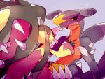 artist_request claws dragon fangs garchomp mawile mega_mawile mega_pokemon nintendo pokemon