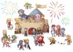 2016 6+boys 6+girls adean_(fire_emblem) aira_(fire_emblem) alec_(fire_emblem) alvis_(fire_emblem) anniversary arden_(fire_emblem) azel_(fire_emblem) beowulf_(fire_emblem) black_hair blonde_hair briggid_(fire_emblem) brown_hair chibi claude_(fire_emblem) cuan_(fire_emblem) dew_(fire_emblem) diadora_(fire_emblem) eltoshan_(fire_emblem) ethlin_(fire_emblem) everyone finn_(fire_emblem) fire_emblem fire_emblem:_seisen_no_keifu fireworks fury_(fire_emblem) gloves green_hair holin_(fire_emblem) jamka_(fire_emblem) lachesis_(fire_emblem) levin_(fire_emblem) lex_(fire_emblem) long_hair midayle_(fire_emblem) multiple_boys multiple_girls noish_(fire_emblem) oifaye_(fire_emblem) pink_hair purple_hair redhead short_hair sigurd_(fire_emblem) smile sylvia_(fire_emblem) tiltyu_(fire_emblem) toripenguin weapon
