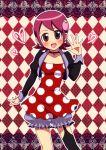 00s 1girl blush capcom clothes maron_(quintet_colors) md5_mismatch redhead rockman rockman_exe sakurai_meiru smile