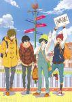 4boys high_speed! iwasaki_nami male_focus multiple_boys nanase_haruka_(free!) official_art shiina_asahi tachibana_makoto tagme