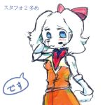 1girl fay_spaniel female furry nintendo solo star_fox white_background