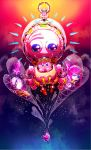 artist_request galactic_nova goggles goggles_on_head kirby kirby:_planet_robobot kirby_(series) looking_at_viewer mecha meta_knight nintendo spoilers star_dream susie_(kirby)