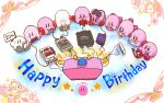 1992 1993 1995 1996 1997 2000 2002 2003 2004 2005 2006 2008 2011 2014 6+boys birthday blue_eyes blush famicom game_boy game_console gameboy_advance gamecube handheld_game_console hoshi_no_kirby hoshi_no_kirby:_yume_no_izumi_deluxe hoshi_no_kirby:_yume_no_izumi_no_monogatari hoshi_no_kirby_(game) hoshi_no_kirby_3 hoshi_no_kirby_64 hoshi_no_kirby_kagami_no_daimeikyuu hoshi_no_kirby_sanjou!_dorocche_dan hoshi_no_kirby_super_deluxe hoshi_no_kirby_ultra_super_deluxe hoshi_no_kirby_wii king_dedede kirby kirby's_adventure kirby's_dream_land kirby's_dream_land_3 kirby's_return_to_dream_land kirby_(series) kirby_64 kirby_64:_the_crystal_shards kirby_air_ride kirby_and_the_amazing_mirror kirby_nightmare_in_dreamland kirby_no_ea_raido kirby_squeak_squad kirby_super_star kirby_super_star_ultra kirby_triple_deluxe looking_at_viewer multiple_boys nes nintendo nintendo_3ds nintendo_64 nintendo_ds nintendo_entertainment_system no_humans penguin pink_puff_ball rike_(pixiv) snes star super_famicom super_nintendo_entertainment_system television waddle_dee wii