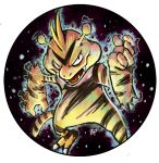 creature electabuzz electric electricity monster no_humans pokemon solo swamimen swamitsunami