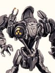 90s cyborg extra_limbs mecha no_humans oldschool robocop robocop_2 science_fiction tei-o white_background