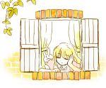 1girl apron blonde_hair closed_eyes dress leaves lilith_aileron long_hair rabbit tales_of_(series) tales_of_destiny