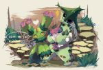 cacturne flower maractus no_humans pokemon