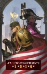 2016 america american_flag armor blonde_hair building cape character_name closed_mouth cosplay dated donald_trump ea_(fate/stay_night) emperor_of_mankind emperor_of_mankind_(cosplay) flag gauntlets gold gold_armor hat highres hillary_clinton holding holding_weapon jeanex laurel_crown laurels ornate ornate_armor pauldrons polearm politician power_armor power_suit profile real_life realistic short_hair shoulder_pads sky skyscraper staff striped torch warhammer_40k weapon wings witch witch_hat wreath yellow_armor yellow_wings