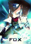 1boy character_name fox_mccloud furry gun handgun jacket looking_at_viewer nintendo solo star_fox tom_skender weapon