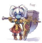 armor league_of_legends poppy tagme yordle