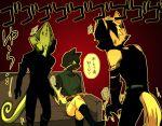3boys furry leon_powalski multiple_boys nintendo panther_caroso star_fox wolf_o'donnell