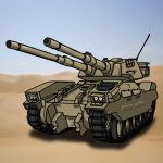 gundam hirodango military military_vehicle mobile_suit_gundam no_humans tank type_61_(gundam) vehicle