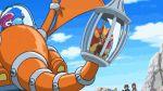 animated animated_gif citron_(pokemon) eureka_(pokemon) frogadier kojirou_(pokemon) litleo musashi_(pokemon) pokemon pokemon_(anime) pyroar satoshi_(pokemon) screencap serena_(pokemon) wobbuffet