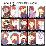 2girls adventure_time aikatsu! avatar:_the_last_airbender avatar_(series) blue_hair blush brown_hair crossover family_guy gravity_falls gyaheung horse idol kiriya_aoi korean long_hair looking_at_viewer motor_city motorcity multiple_girls my_little_pony open_mouth over_the_garden_wall parody powerpuff_girls ribbon rick_and_morty shibuki_ran side_ponytail skirt smile south_park steven_universe style_parody superjail the_fairly_oddparents the_legend_of_korra the_simpsons translation_request violet_eyes