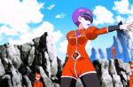 1girl 3boys animated animated_gif correa_(pokemon) curvy female multiple_boys nintendo pokemon pokemon_(anime) sky smile team_flare uniform