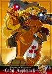 applejack armor blonde_hair my_little_pony my_little_pony_friendship_is_magic personification shonuff44