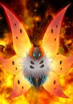 10s bug fire fur insect_wings maiko_(moko) pokemon pokemon_(game) pokemon_xy volcarona wings