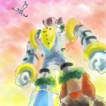 hat lugia monster nintendo no_humans pokemon pokemon_(game) regice regigigas regirock registeel sketch sky