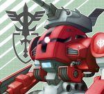 cannon gigan_(mobile_suit) gundam gundam_msv mecha pinesea_(sankuri) zeon