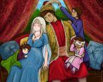 axis_powers_hetalia breasts husband_and_wife pregnant sleeping smile turkey_(hetalia) ukraine_(hetalia)