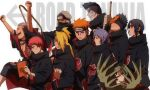 1girl 6+boys akatsuki_(naruto) amber_eyes black_eyes black_hair blonde_hair blue_eyes blue_hair brown_eyes deidara forehead_protector gold_eyes green_eyes green_hair hair_over_one_eye hidan hoshigaki_kisame kakuzu konan long_hair mask multiple_boys naruto naruto:_road_to_ninja naruto_shippuuden orange_hair pain_(naruto) pain_(tendo) redhead rinnegan sasori short_hair spiky_hair tobi uchiha_itachi uchiha_obito violet_eyes zetsu
