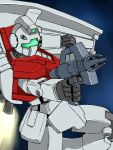 gm_(mobile_suit) gun gundam koutarou_(plusdrive) mecha mobile_suit_gundam shield space weapon