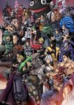 6+boys 6+girls alien aliens_vs_predator animal armor assassin's_creed assassin's_creed_(series) belt black_hair blade blazblue blonde_hair blue_eyes blue_hair bra breasts brown_eyes brown_hair carol_(skullgirls) castlevania christie_(doa) claws cleavage closed_eyes cloud_strife cornell crimson_viper crossover cyrax_(mortal_kombat) dark_skin dead_or_alive demon dissidia_012_final_fantasy dissidia_final_fantasy dragon_ball dragonball_z epic eternal_champions evil_ryuu ezio_auditore_da_firenze fan fatal_fury felicia fernandez final_fantasy fingerless_gloves ganondorf gloves glowing glowing_eyes gouki green_eyes green_hair gun hakumen hat headband highres hood huge_breasts jacket jedah jill_valentine killer_instinct king_of_fighters large_breasts leonardo linn_kurosawa lips long_hair majin_buu mask mewtwo michelle_chang midknight mishima_kazuya morrigan_aensland mortal_kombat multiple_boys multiple_girls nightmare_(soulcalibur) ninja_gaiden nose open_mouth painwheel_(skullgirls) pants pokemon rareware red_eyes redhead resident_evil rock_howard ryu_hayabusa ryuu_(street_fighter) sabrewulf scar scarf scorpion_(mortal_kombat) shiranui_mai short_hair short_shorts shorts skullgirls soul_calibur standing street_fighter super_smash_bros. sword teenage_mutant_ninja_turtles tekken the_legend_of_zelda underwear vampire_(game) vega violet_eyes waku_waku_7 weapon white_eyes white_hair yellow_eyes yoshimitsu
