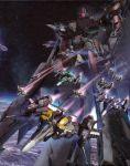 battle_frontier highres macross macross_frontier mecha space_craft starfighter vf-25